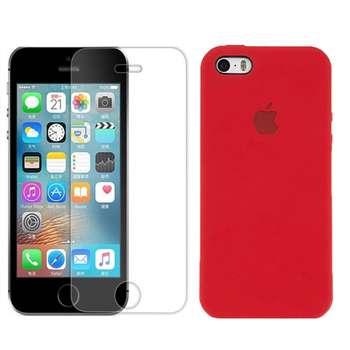 کاور مدل  nxe مناسب برای گوشی موبایل اپل iphone SE/5s/5 به همراه محافظ صفحه نمایش