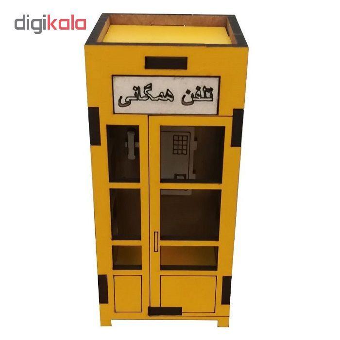 ماکت دکوری طرح کیوسک تلفن مدل SI-02 main 1 2