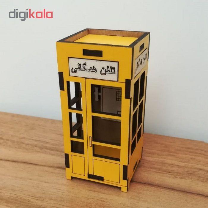 ماکت دکوری طرح کیوسک تلفن مدل SI-02 main 1 4