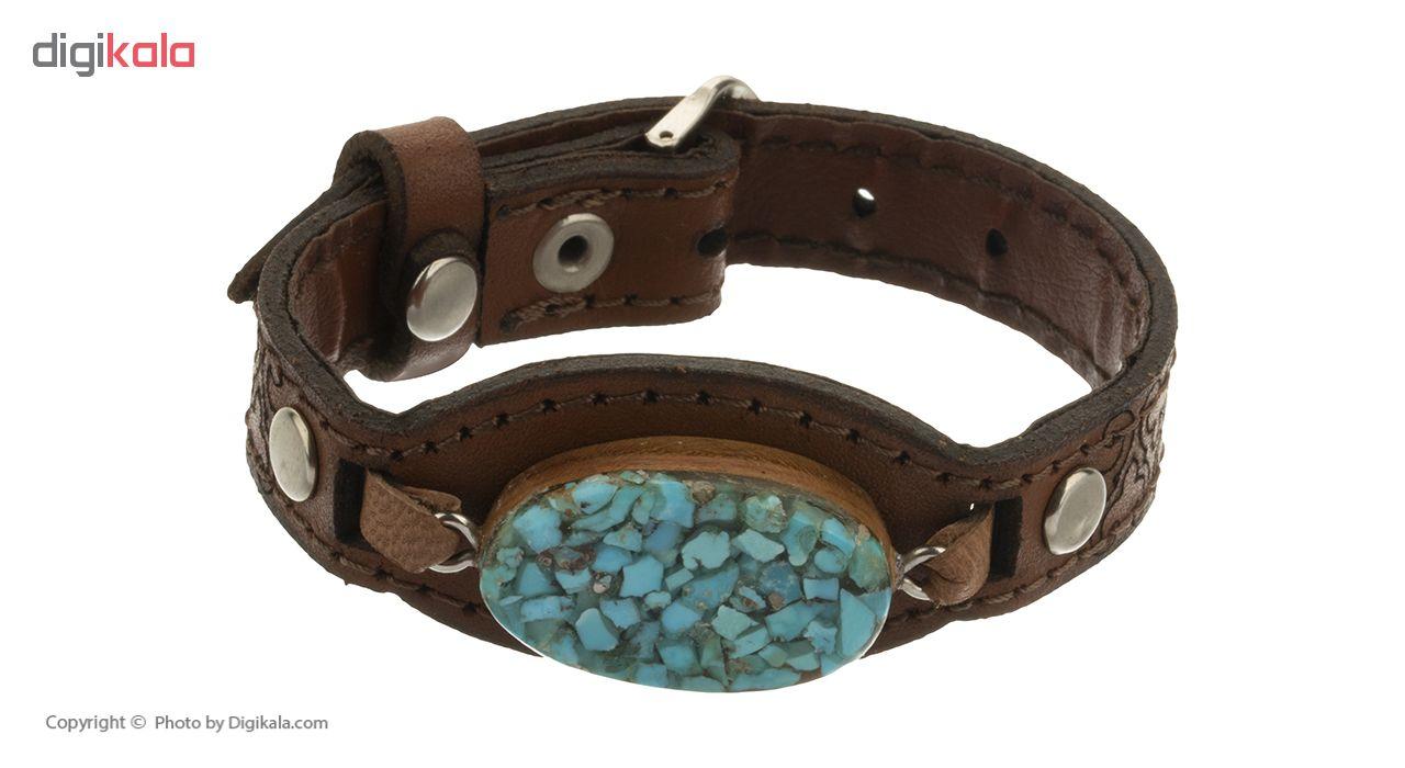دستبند نقره کد 1