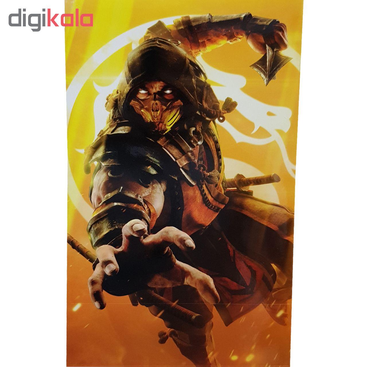 برچسب ایکس باکس وان اس کاکتوس طرح Mortal Kombat