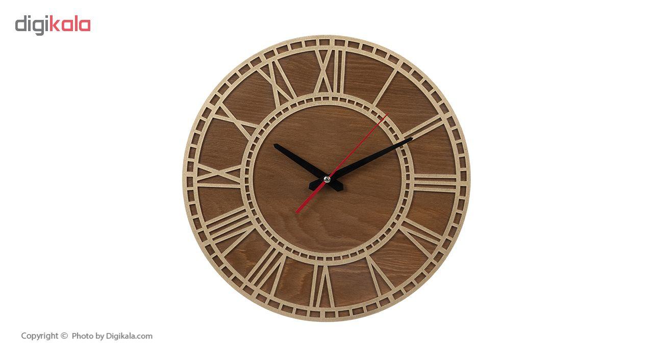 ساعت دیواری معرق کاری هُم آدیس مدل KITA کد CK 601-TC