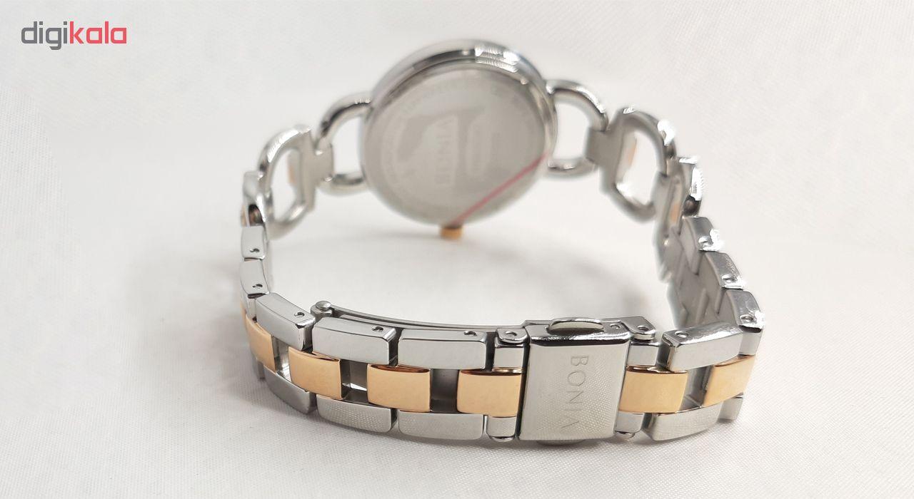 ساعت مچی عقربه ای زنانه بونیا کد BNB10382-2655              ارزان