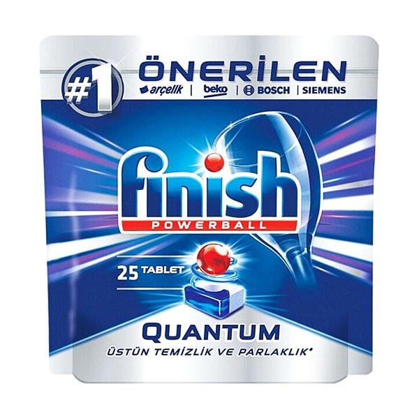 قرص ماشین ظرفشویی فینیش مدل کوانتوم بسته 25 عددی