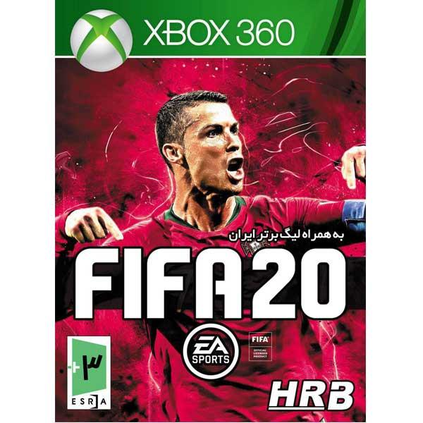 بازی Fifa 20 به همراه لیگ برتر ایران مخصوص XBOX 360