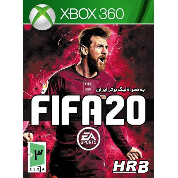 بازی Fifa 20 به همراه لیگ برتر ایران مخصوص Xbox360