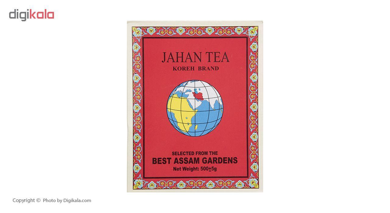 چای سیاه شکسته خارجی جهان سری کره نشان  مقدار 500 گرم main 1 4