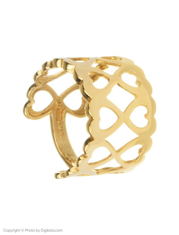 انگشتر طلا 18 عیار زنانه میو گلد مدل RG66