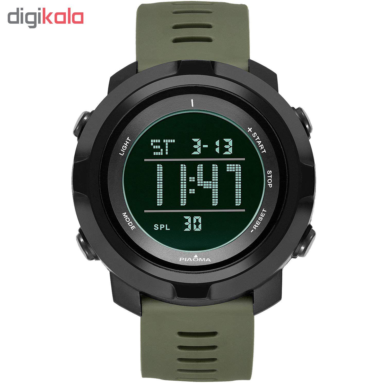 کد تخفیف                                      ساعت مچی دیجیتال مردانه پیائوما مدل D4-G