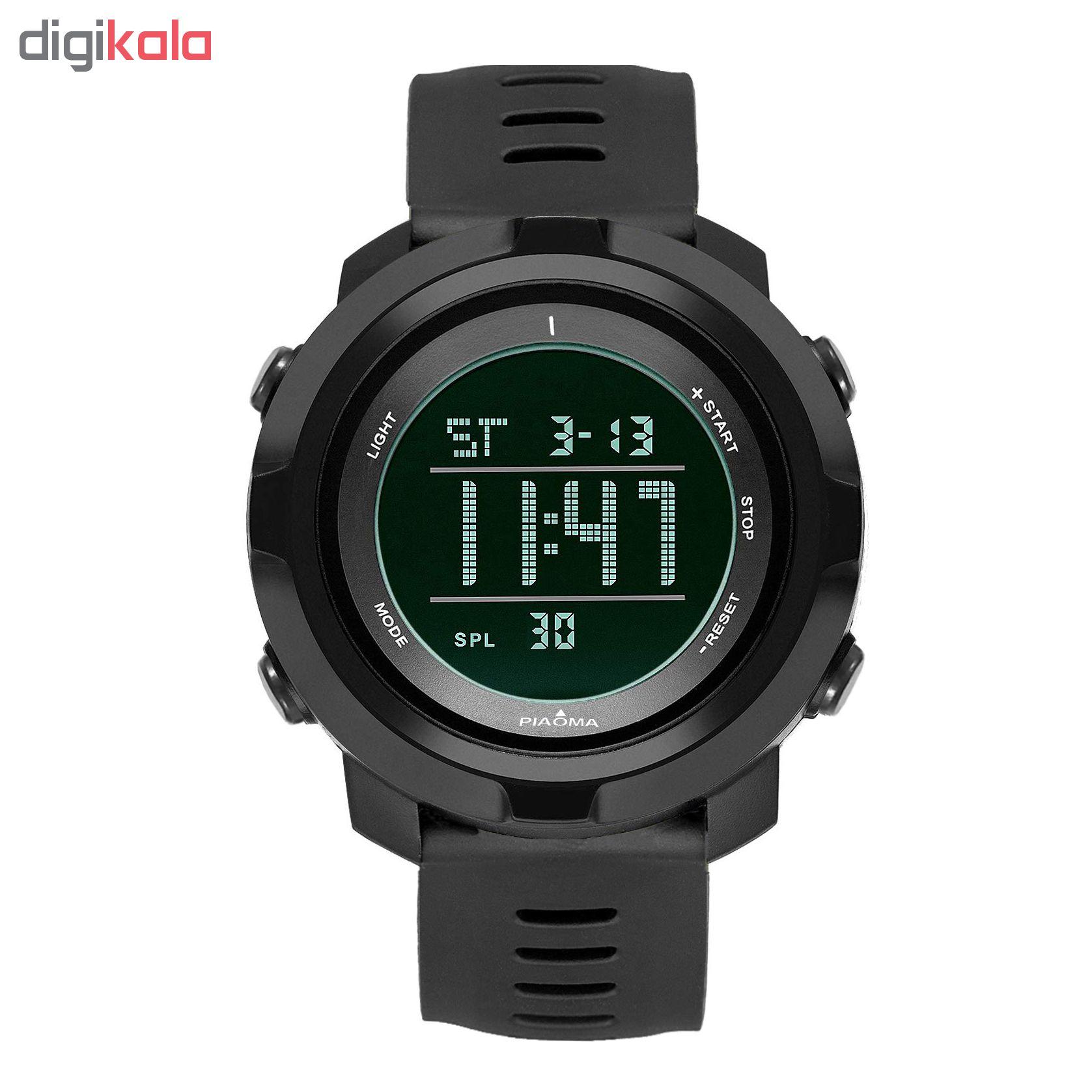 کد تخفیف                                      ساعت مچی دیجیتال مردانه پیائوما مدل D4