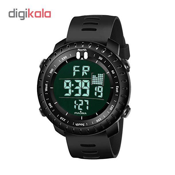 ساعت مچی دیجیتال مردانه پیائوما مدل DAV             قیمت