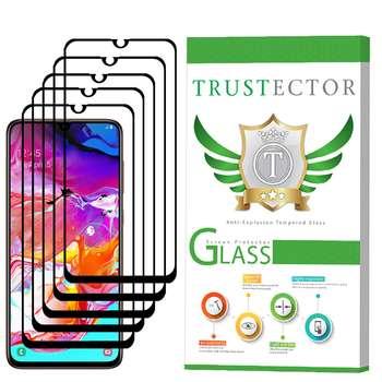 محافظ صفحه نمایش تراستکتور مدل GSS مناسب برای گوشی موبایل سامسونگ Galaxy A70 بسته 5 عددی