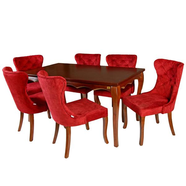 میز و صندلی ناهار خوری چوبکو مدل 692