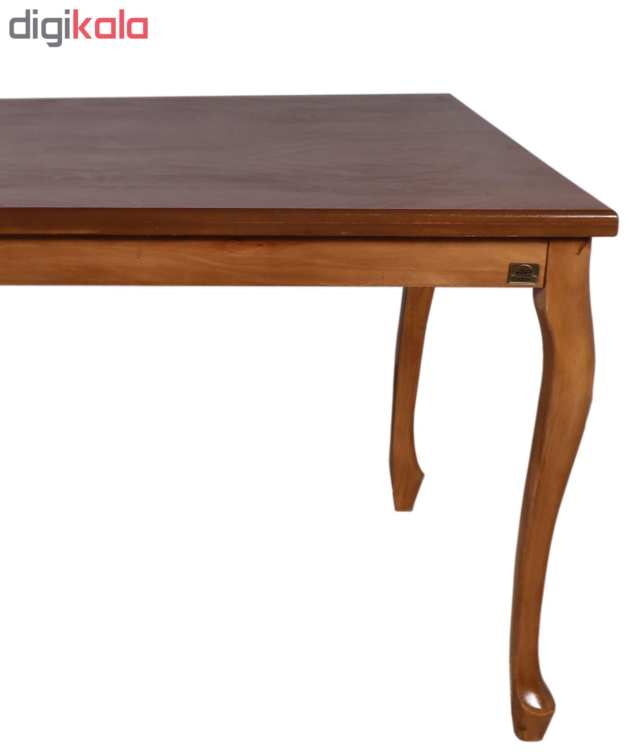 قیمت                      میز ناهارخوری چوبکو مدل 761