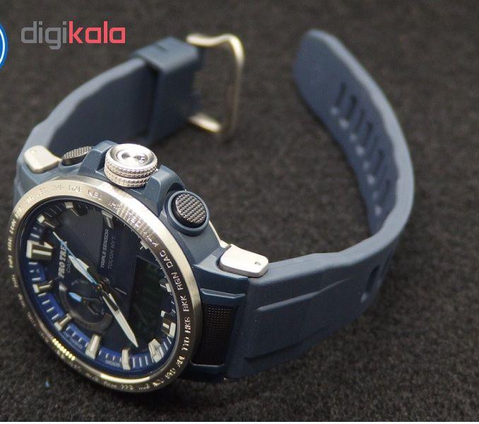 کد تخفیف                                      ساعت مچی عقربه ای مردانه کاسیو مدل PRW-60-2ADR