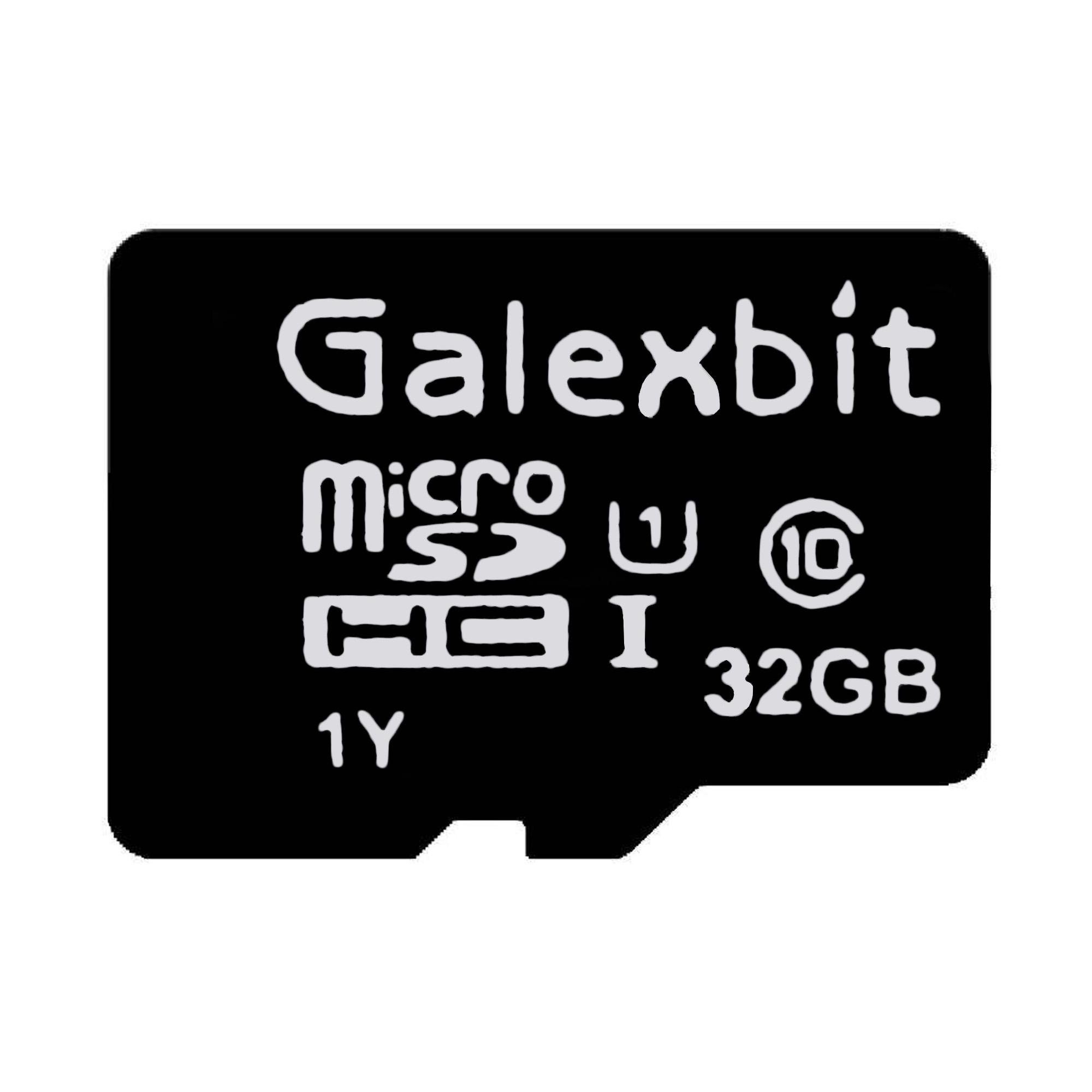 کارت حافظه microSDHC گلکسبیت مدل 333x کلاس 10 استاندارد UHS-I سرعت 50MBps ظرفیت 32 گیگابایت