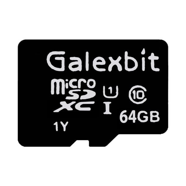 کارت حافظه microSDXC گلکسبیت مدل 333x کلاس 10 استاندارد UHS-I سرعت 50MBps ظرفیت 64 گیگابایت