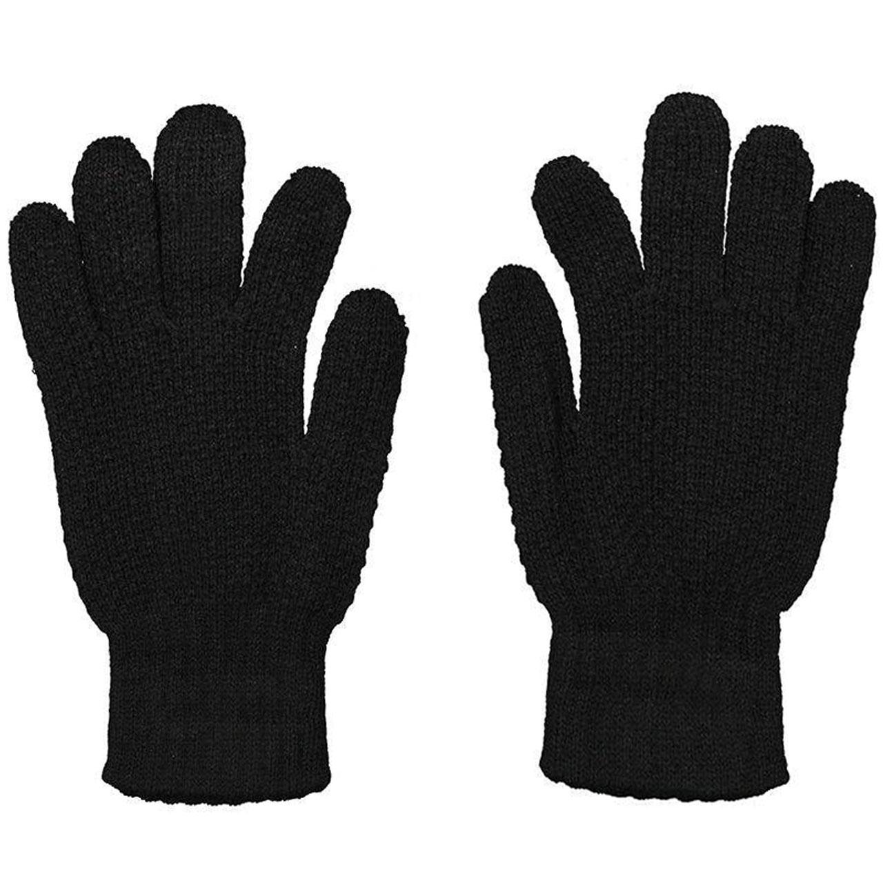 دستکش بافتنی مردانه منوچهری کد 35444
