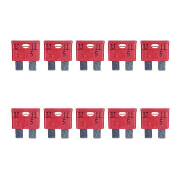 فیوز خودرو 10 آمپر  ام تی ای مدل 110  بسته 10 عددی