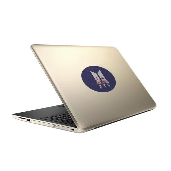 استیکر لپ تاپ تیداکس گروپ طرح BTS مدل TIH009