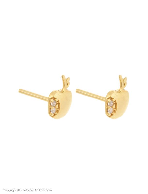 گوشواره طلا 18 عیار زنانه میو گلد مدل EG192