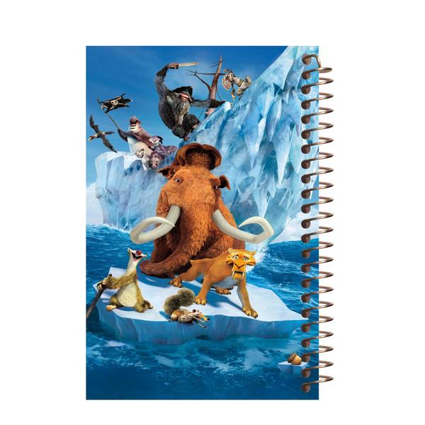 دفتر یادداشت آف تاب مدل Ice Age کد 03