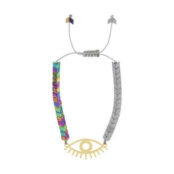 دستبند زنانه طرح چشم کد 38