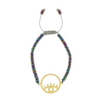 دستبند زنانه طرح چشم کد 40