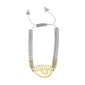 دستبند زنانه طرح چشم کیارا کد 51