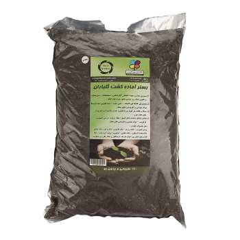 بستر آماده کشت گلباران سبز بسته 8 کیلوگرمی