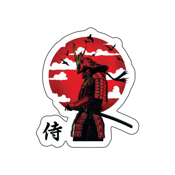 استیکر لپ تاپ طرح سامورایی کد E-112