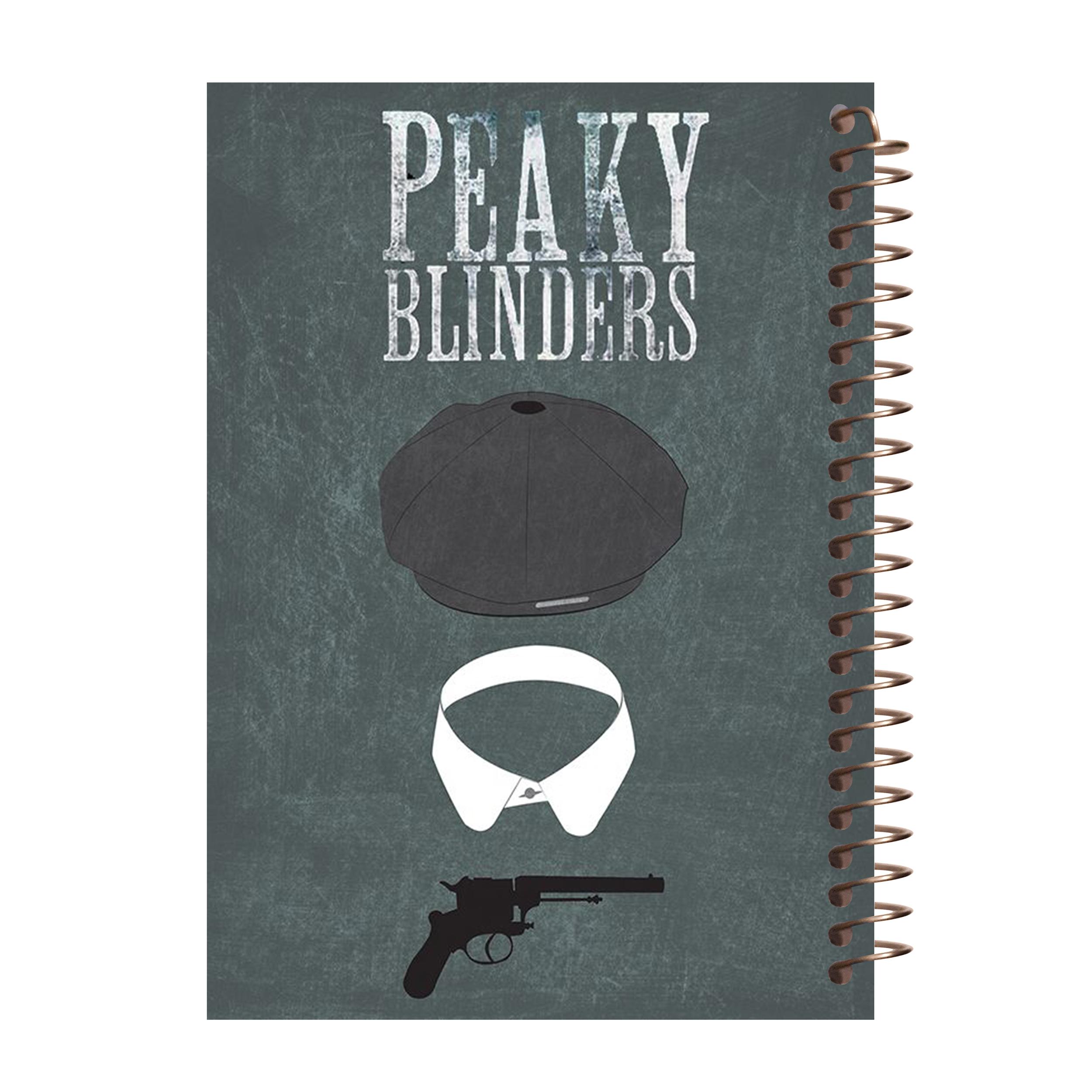 دفتر یادداشت آف تاب مدل Peaky Blinders کد 05