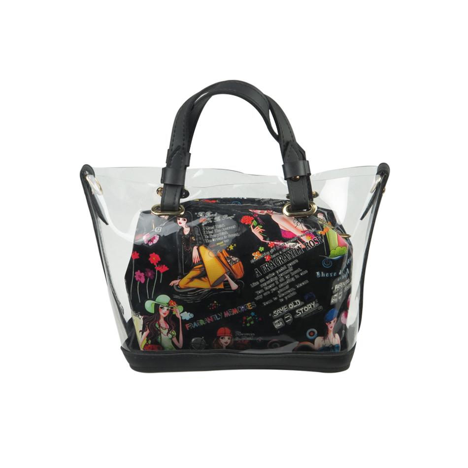 کیف دستی زنانه کد brfp-086 رنگ مشکی