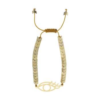 دستبند زنانه طرح چشم کد 44