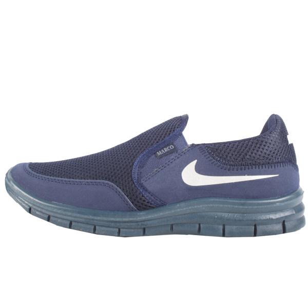 کفش مخصوص پیاده روی اندیشه مدل مارکو کد 1402 رنگ سرمه ای