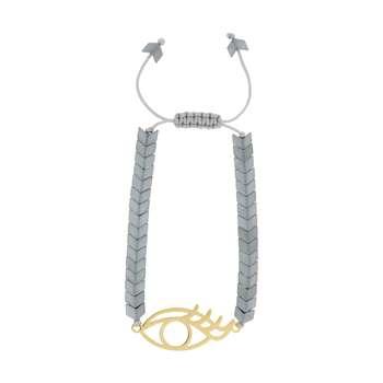 دستبند زنانه طرح چشم کد 45