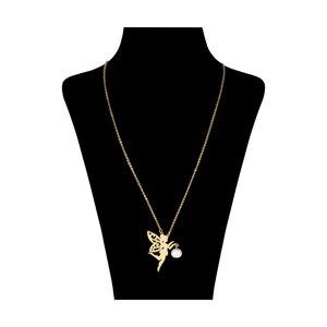 گردنبند زنانه طرح فرشته کد 18