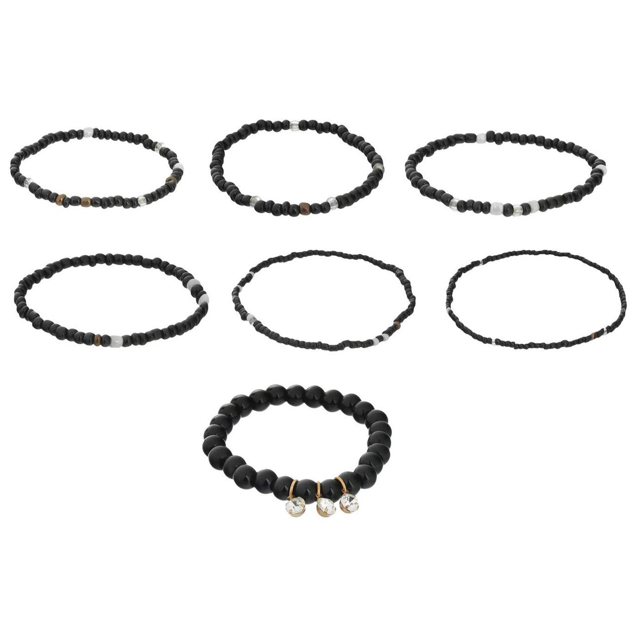خرید اینترنتی                     دستبند زنانه مدل شایسته کد 50 مجموعه 7 عددی