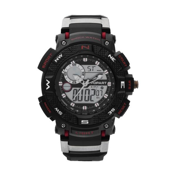 ساعت مچی عقربه ای مردانه پوپارت مدل PR-3466