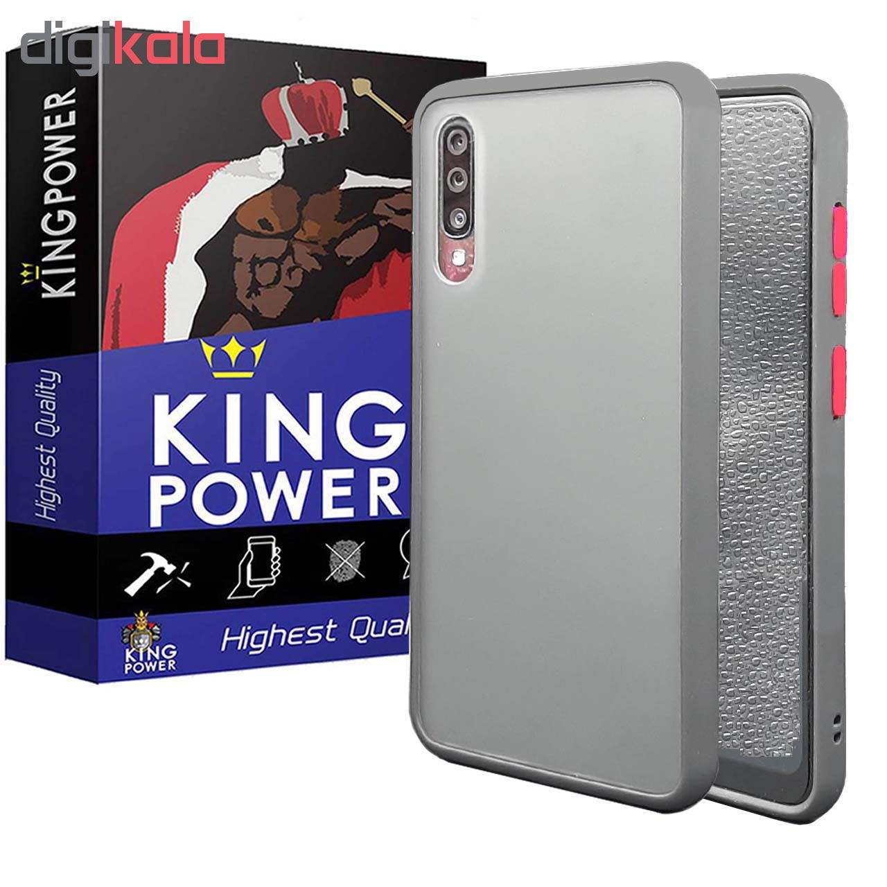 کاور کینگ پاور مدل M21 مناسب برای گوشی موبایل سامسونگ Galaxy A50/ A30S/ A50S