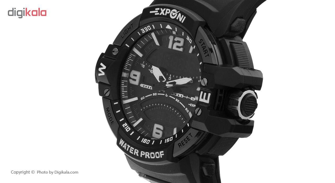 کد تخفیف                                      ساعت مچی عقربه ای مردانه اکسپونی مدل 611-702