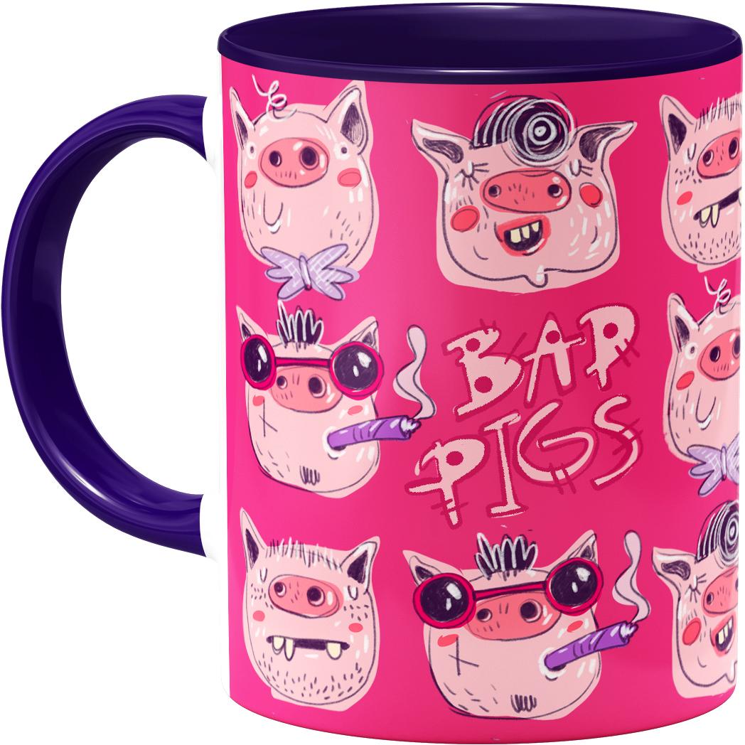 ماگ هیدورا طرح Bad Pigs