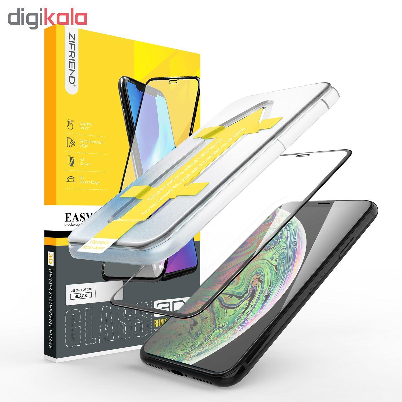 محافظ صفحه نمایش 3D زیفرند مدل ALP مناسب برای گوشی موبایل اپل iPhone X main 1 3