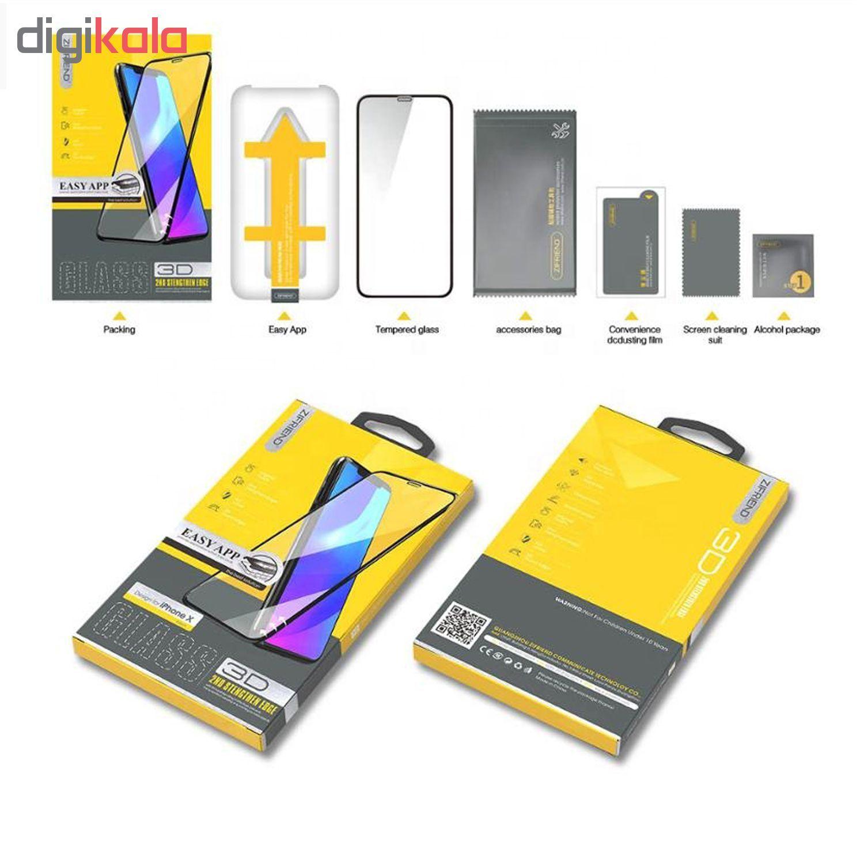 محافظ صفحه نمایش 3D زیفرند مدل ALP مناسب برای گوشی موبایل اپل iPhone X main 1 2