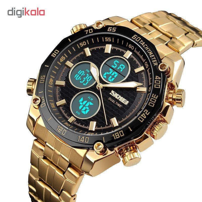 ساعت مچی عقربه ای مردانه اسکمی مدل  gl - 1302