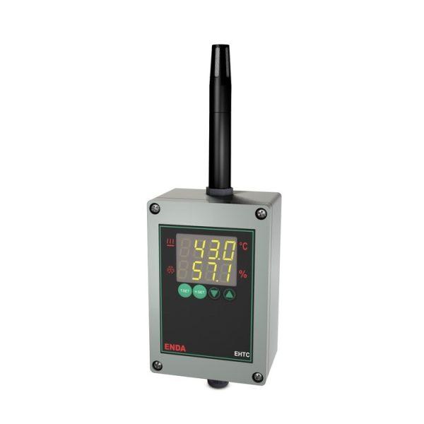 کنترلر دما و رطوبت اندا مدل EHTC-W-UV-100-2R