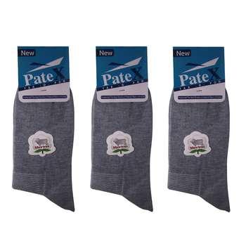 جوراب مردانه پتکس مدل SA-002 بسته 3 عددی