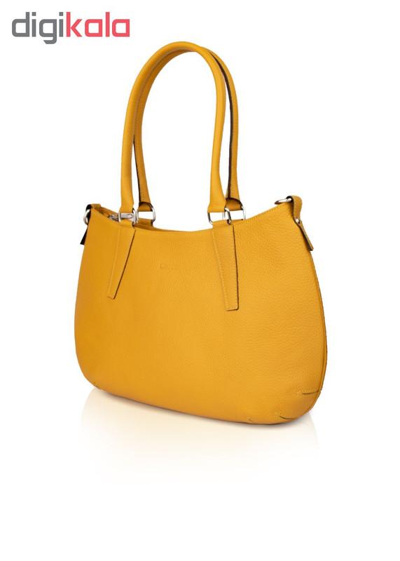 کیف دوشی زنانه چرم کروکو کد 1003246