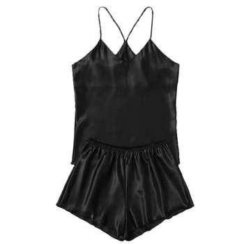 لباس خواب زنانه کد T-870 رنگ مشکی