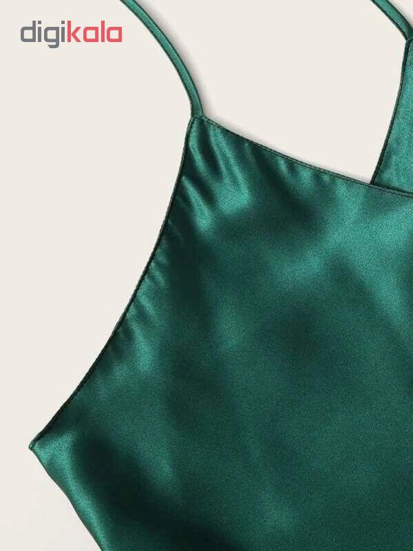 لباس خواب زنانه کد T-870 رنگ سبز